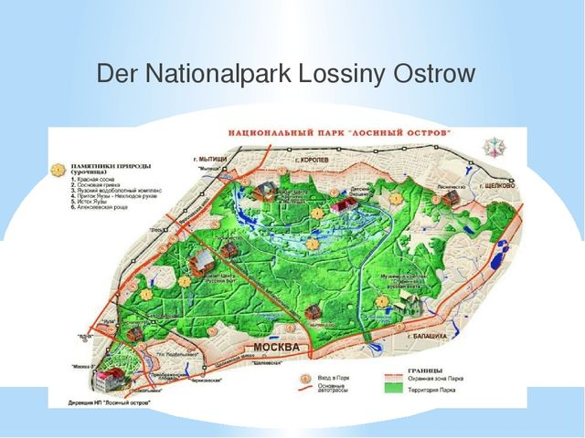 Der Nationalpark Lossiny Ostrow
