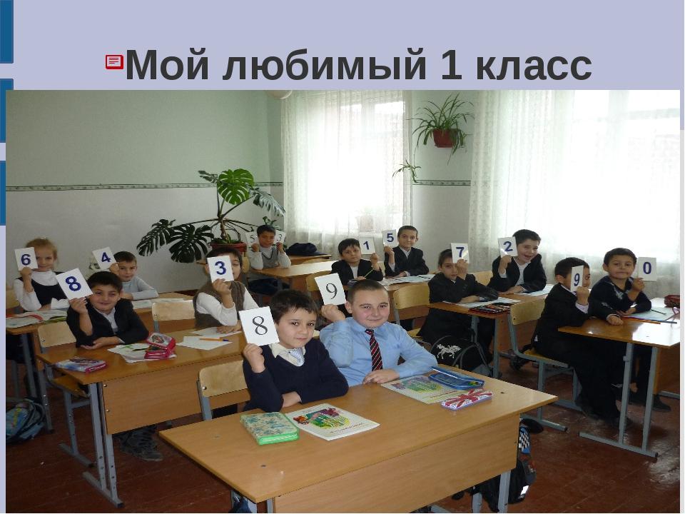 Мой любимый 1 класс