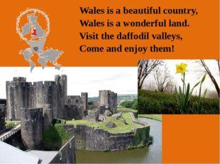Anthem: Hen Wlad Fy Nhadau (Land of my Fathers ) Motto: Cymru am byth (Wales