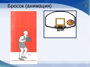 Положение до выпуска мяча Мяч удерживается на уровне груди или немного выше;