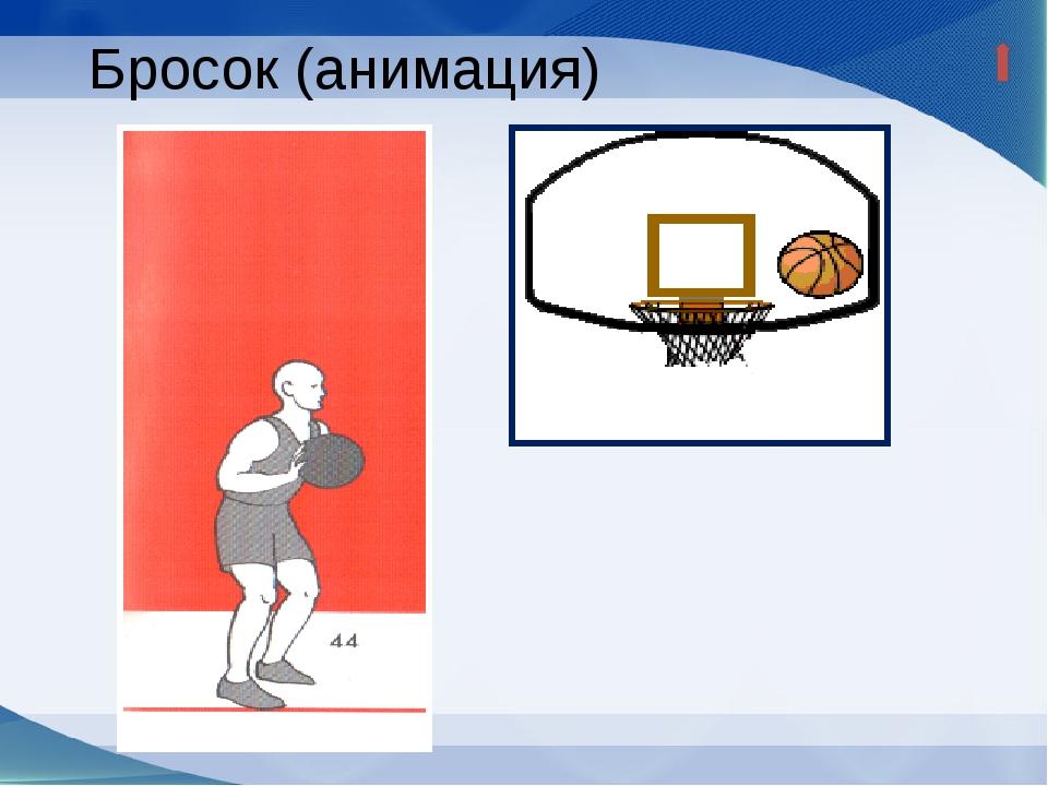Положение до выпуска мяча Мяч удерживается на уровне груди или немного выше;...