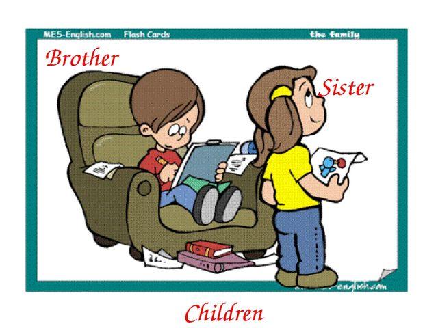Сhildren Sister Brother