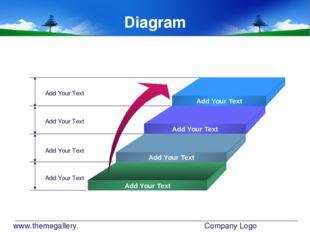 www.themegallery.com Company Logo Diagram Add Your Text Add Your Text Add You