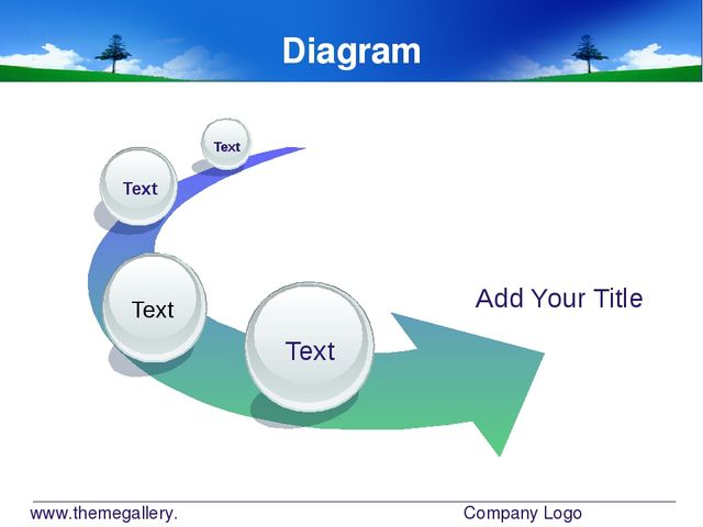 www.themegallery.com Company Logo Diagram Add Your Title Text Text Text Text