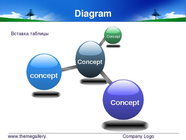 www.themegallery.com Company Logo Diagram