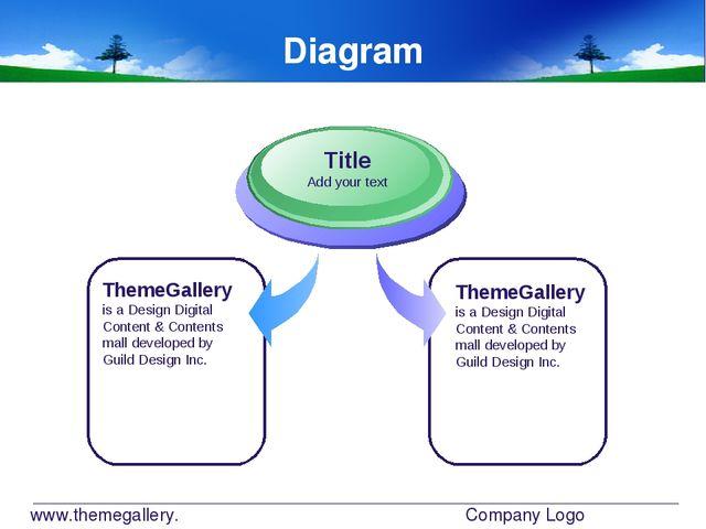 www.themegallery.com Company Logo Diagram ThemeGallery is a Design Digital Co...