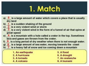 ___ is a large amount of water which covers a place that is usually dry land