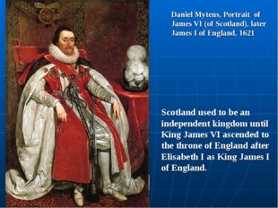 Daniel Mytens, Portrait of James VI (of Scotland), later James I of England,