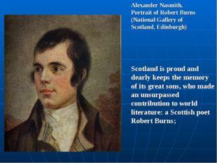 Alexander Nasmith, Portrait of Robert Burns (National Gallery of Scotland, Ed