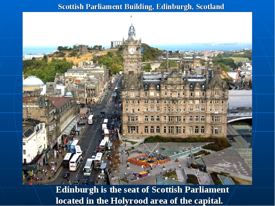 Scottish Parliament Building, Edinburgh, Scotland Edinburgh is the seat of Sc...