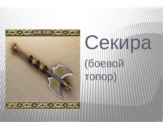 Секира (боевой топор)