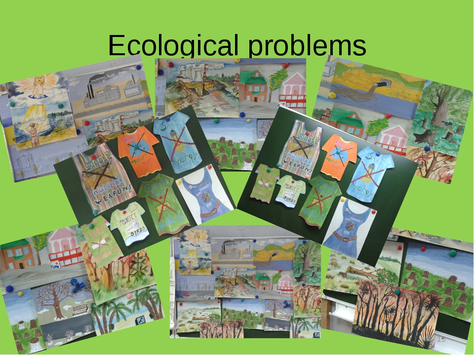 Ecological problems *