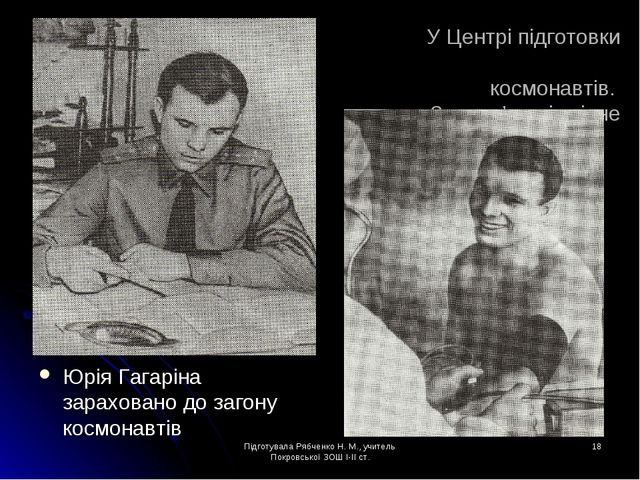 Підготувала Рябченко Н. М., учитель Покровської ЗОШ І-ІІ ст. * У Центрі підго...