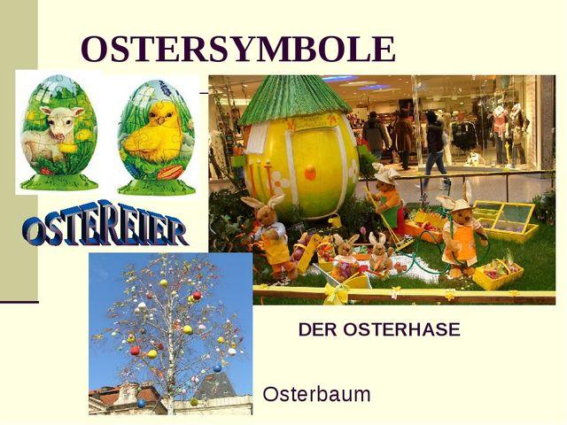 OSTERSYMBOLE DER OSTERHASE Osterbaum
