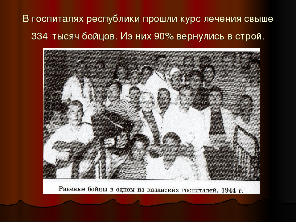 В госпиталях республики прошли курс лечения свыше 334 тысяч бойцов. Из них 90...