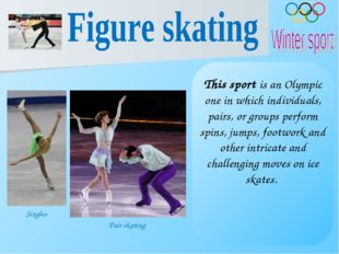 This sport is an Olympic one in which individuals, pairs, or groups perform s