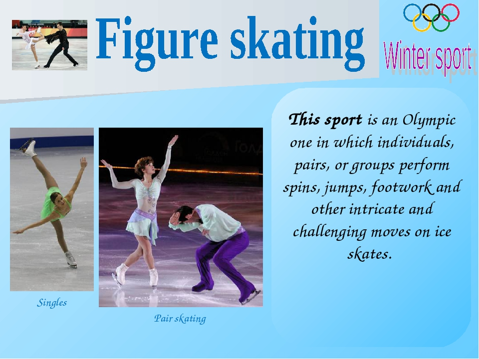 This sport is an Olympic one in which individuals, pairs, or groups perform s...