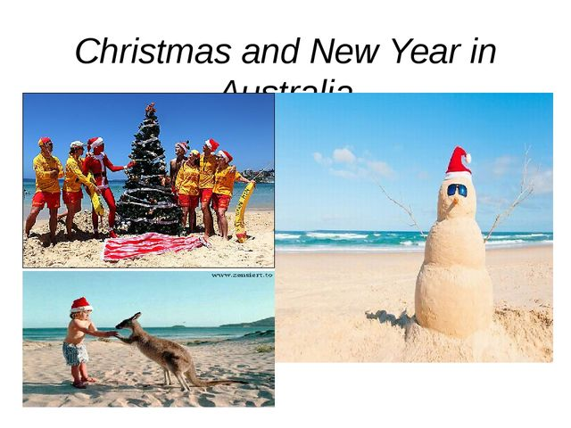 Christmas and New Year in Australia