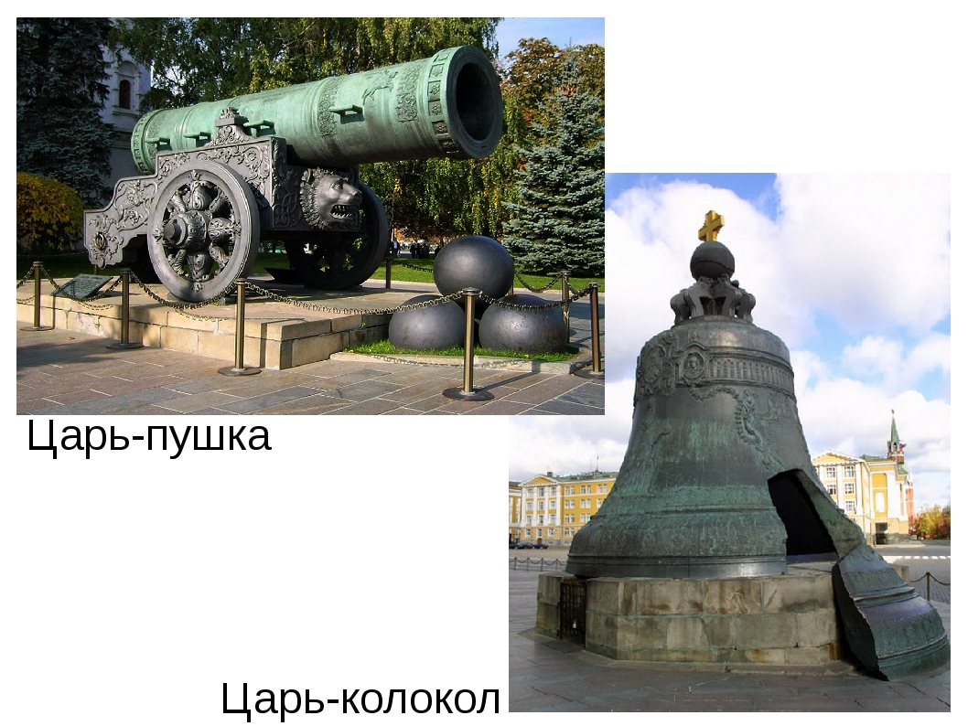 Царь-пушка Царь-колокол