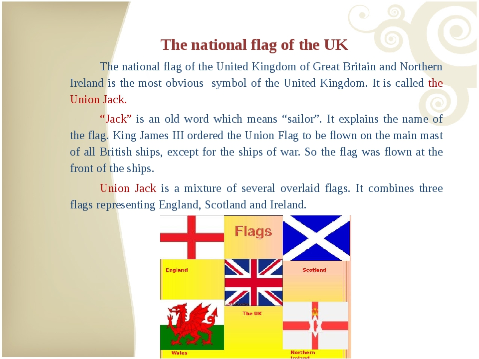 The national flag of the UK 	The national flag of the United Kingdom of Great...