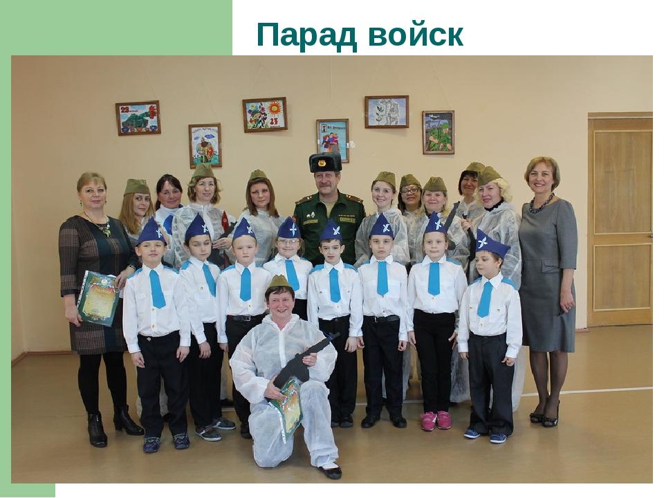 Парад войск