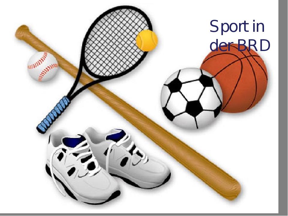 Sport in der BRD