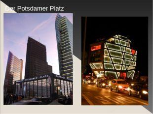 Der Humboldt-Box Der Potsdamer Platz