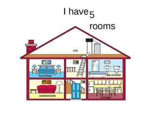 I have 5 rooms