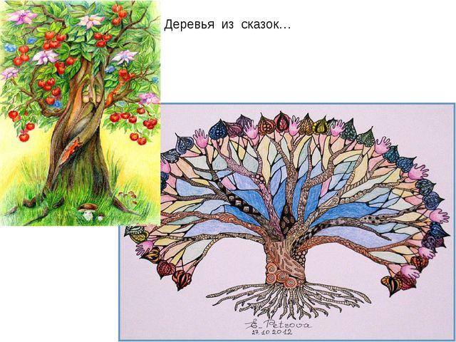 Деревья из сказок…