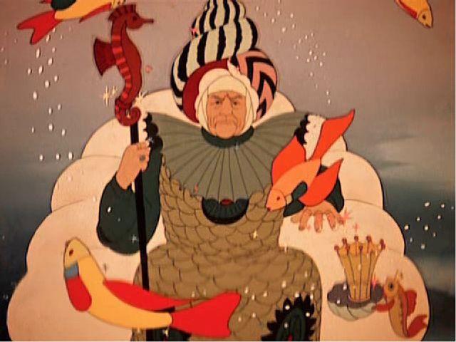 Вот неделя, другая проходит, Еще пуще старуха вздурилась: Царедворцев за муже...