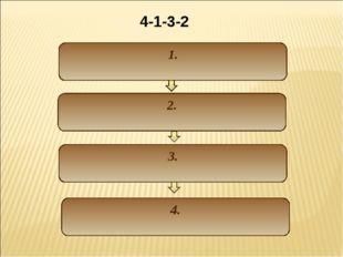 1. 2. 3. 4. 4-1-3-2