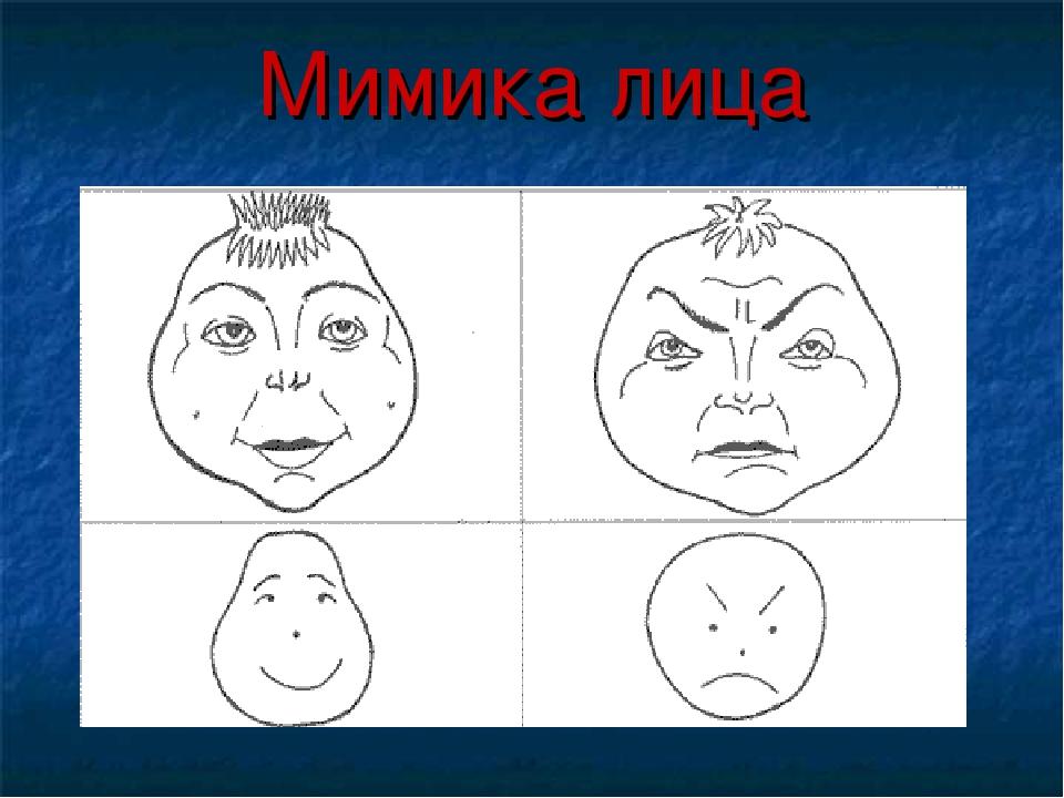 Мимика лица