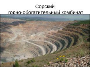Сорский горно-обогатительный комбинат