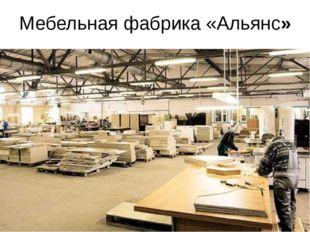 Мебельная фабрика «Альянс»