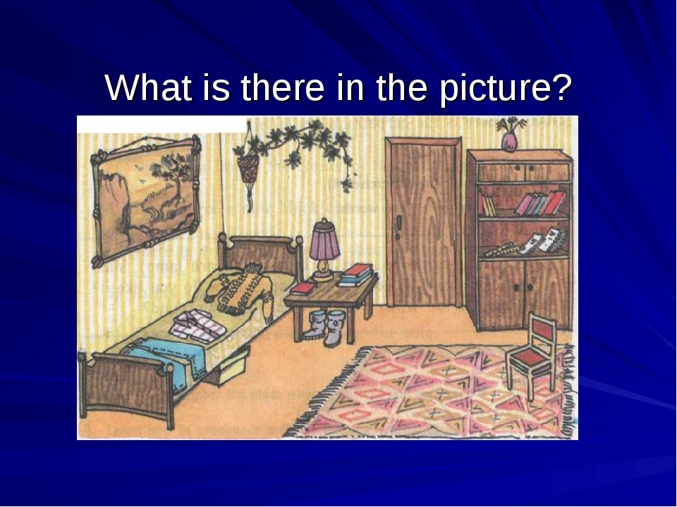 What is there in the picture?