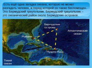Есть ещё одна загадка океана, которую не может разгадать человек, и перед ко