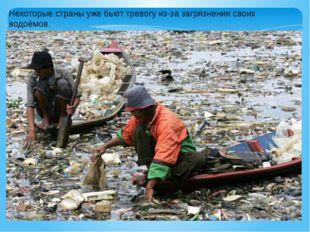 Некоторые страны уже бьют тревогу из-за загрязнения своих водоёмов.