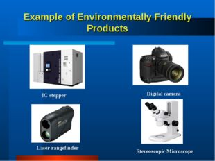 Example of Environmentally Friendly Products Stereoscopic Microscope Digital