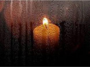 Поэтический образ огонька на окошке превратился в огромный и вдохновляющий си