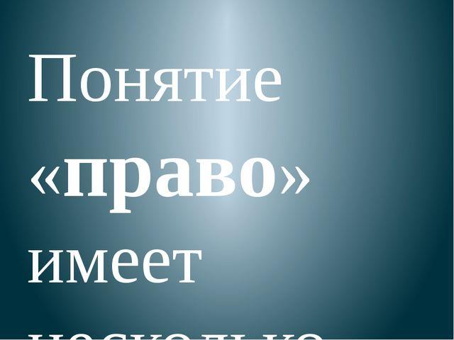 Конституция РФ – Основной закон нашей страны Права и обязанности человека и...