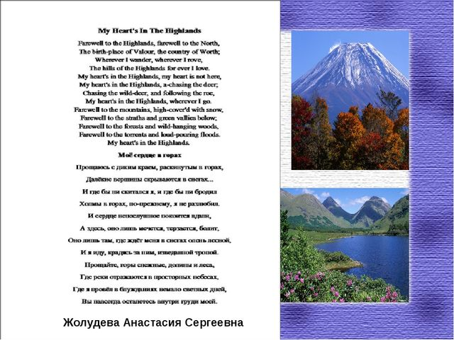 Жолудева Анастасия Сергеевна