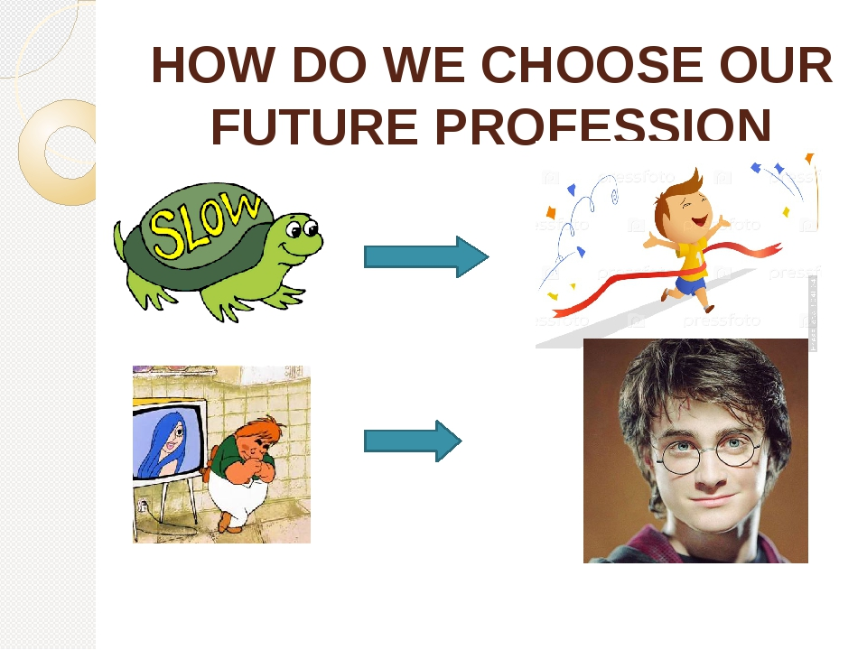 HOW DO WE CHOOSE OUR FUTURE PROFESSION Influenced by our character