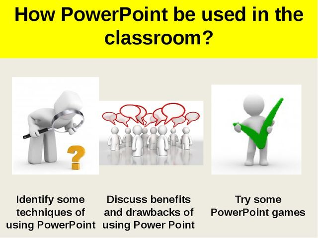 What's good about PowerPoint?