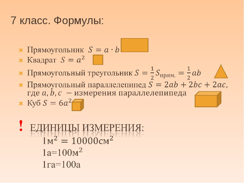 ЗАДАЧИ Прямоугольник, квадрат Параллелепипед, куб Прямоугольный ТРЕУГОЛЬНИК...