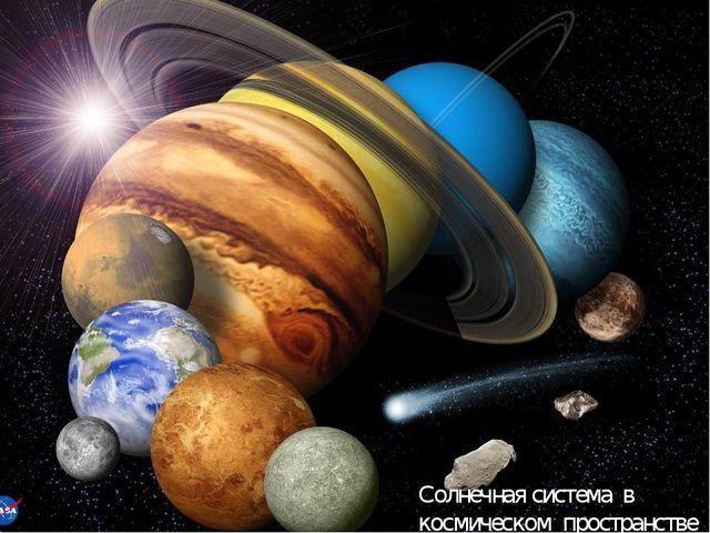 Солнечная система в космическом пространстве