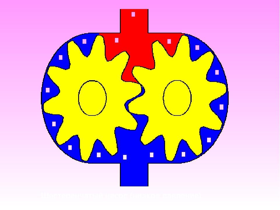 Шестеренчатый насос (низкое давление)