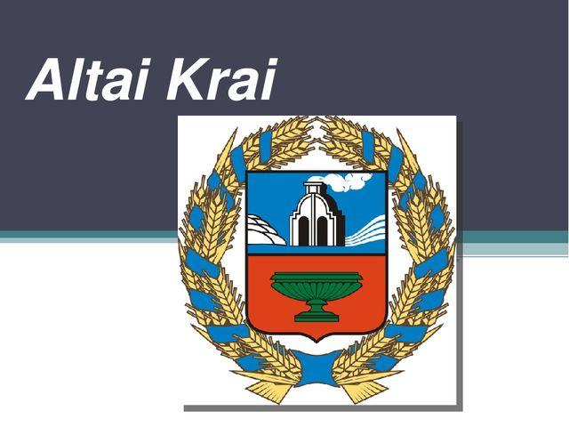 Altai Krai