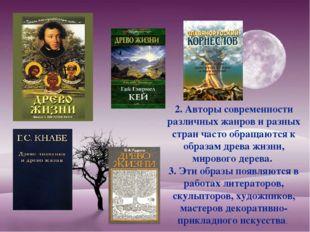 2. Авторы современности различных жанров и разных стран часто обращаются к об