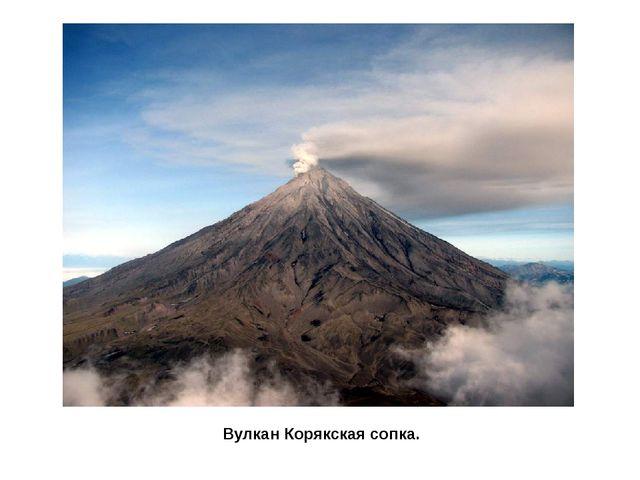 Вулкан Корякская сопка.