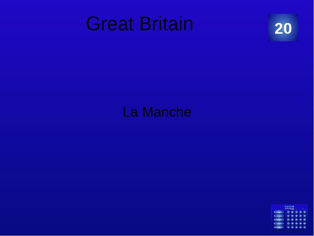 "Great Britain The famous film director – ""The master of horror films"" is... 5..."